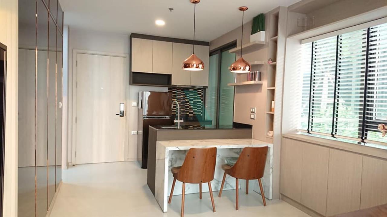 NOPPON REAL ESTATE CO.,LTD. Agency's For Rent Rhythm Sukhumvit 42, 1 bedroom, 22nd floor, near BTS Ekkamai. 8