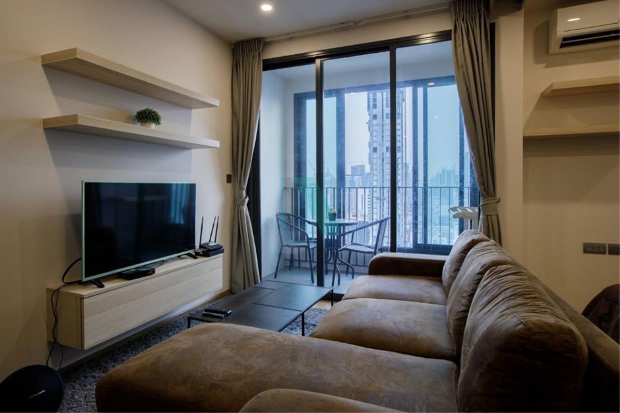 NOPPON REAL ESTATE CO.,LTD.  Agency's For rent Q Chidlom-Petchburi, 1 bedroom, 27th floor, near BTS Chit Lom. 1