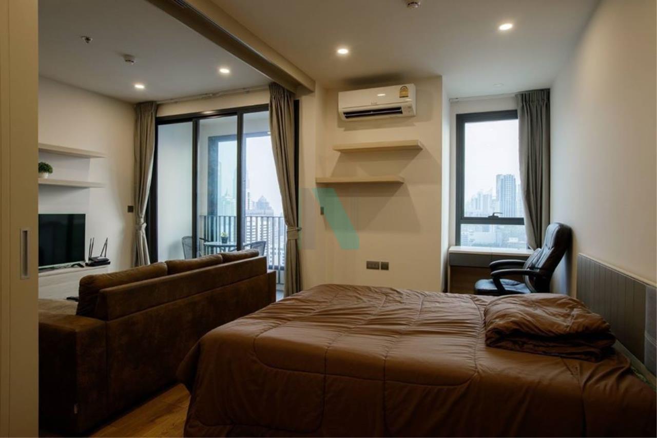 NOPPON REAL ESTATE CO.,LTD.  Agency's For rent Q Chidlom-Petchburi, 1 bedroom, 27th floor, near BTS Chit Lom. 2