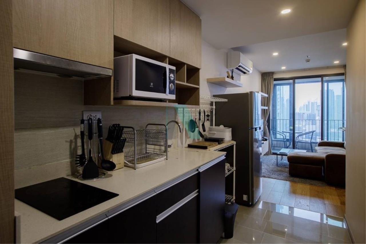 NOPPON REAL ESTATE CO.,LTD.  Agency's For rent Q Chidlom-Petchburi, 1 bedroom, 27th floor, near BTS Chit Lom. 5