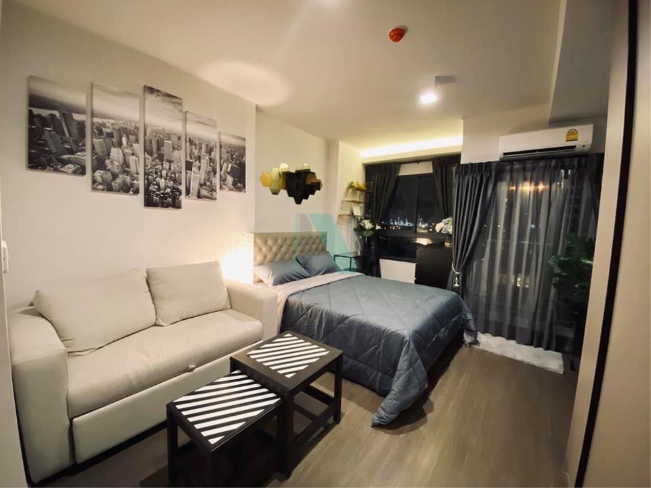 NOPPON REAL ESTATE CO.,LTD.  Agency's For rent Ideo Sukhumvit 93 STUDIO Floor 11 Building A near BTS Bang Chak. 1