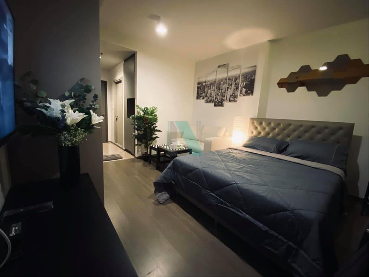 NOPPON REAL ESTATE CO.,LTD.  Agency's For rent Ideo Sukhumvit 93 STUDIO Floor 11 Building A near BTS Bang Chak. 4