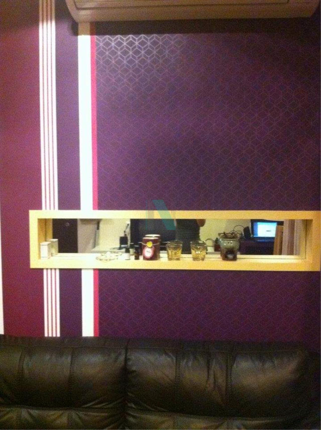 NOPPON REAL ESTATE CO.,LTD.  Agency's For rent The Address Sukhumvit 42 1 bedroom 4th floor near BTS Ekkamai. 2