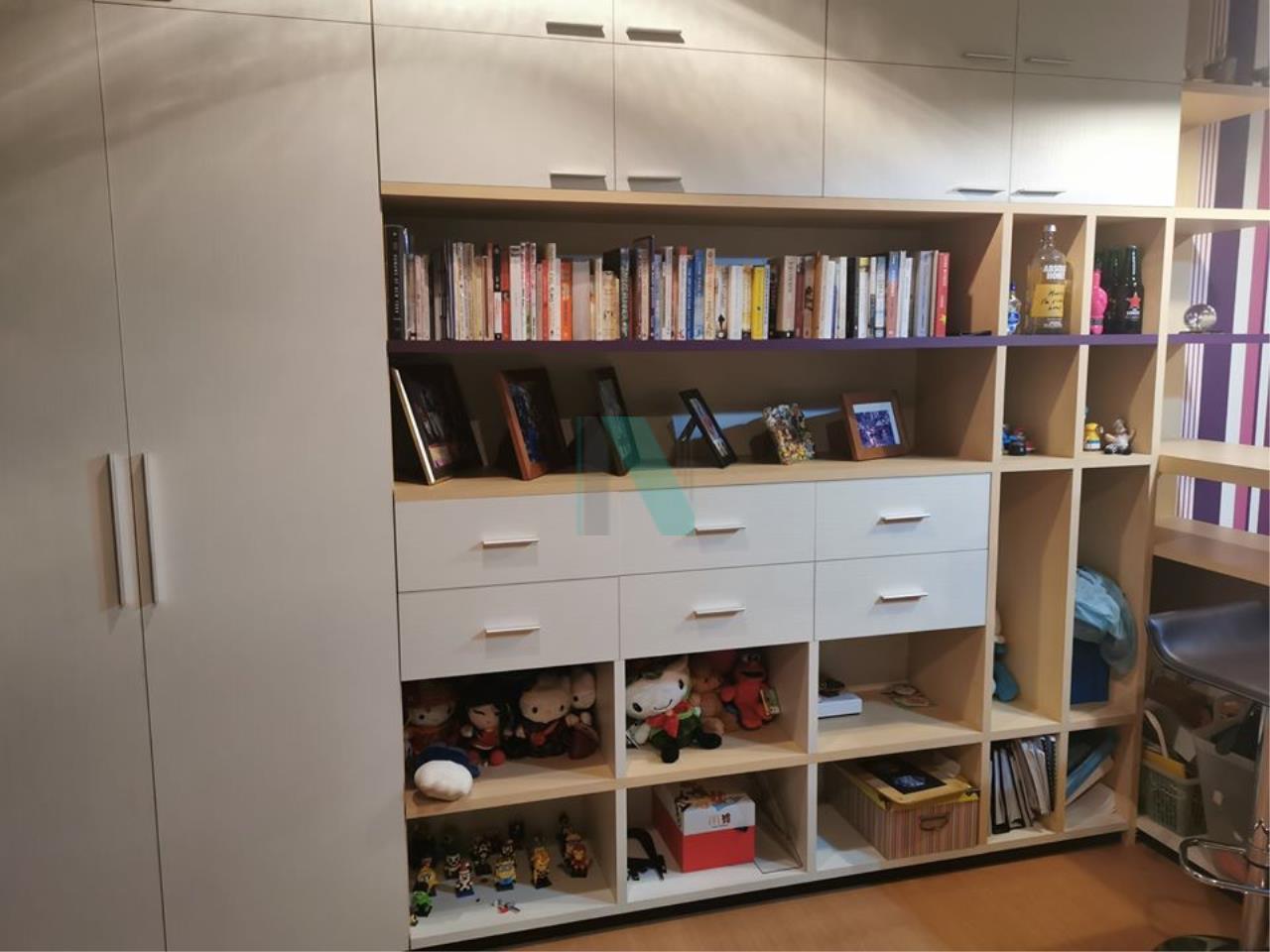 NOPPON REAL ESTATE CO.,LTD.  Agency's For rent The Address Sukhumvit 42 1 bedroom 4th floor near BTS Ekkamai. 7