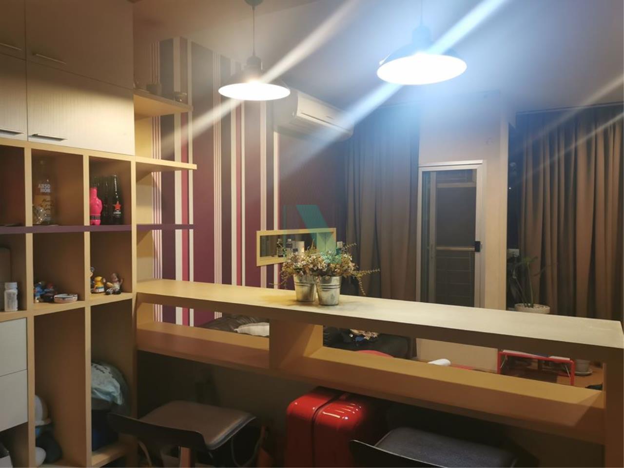 NOPPON REAL ESTATE CO.,LTD.  Agency's For rent The Address Sukhumvit 42 1 bedroom 4th floor near BTS Ekkamai. 8
