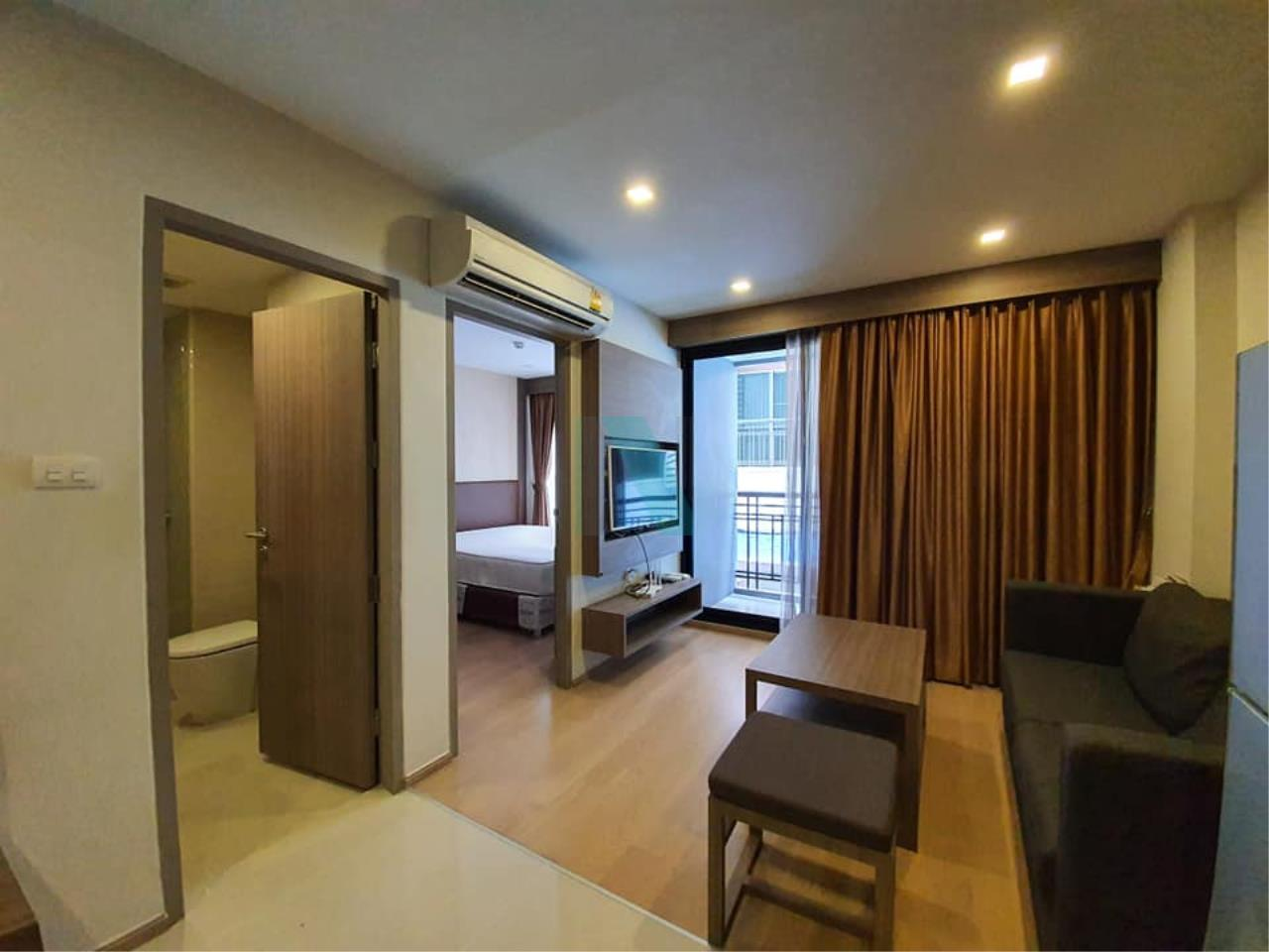 NOPPON REAL ESTATE CO.,LTD.  Agency's For rent Art @ Thonglor 25, 1 bedroom, 2nd floor, near BTS Thong Lo. 1