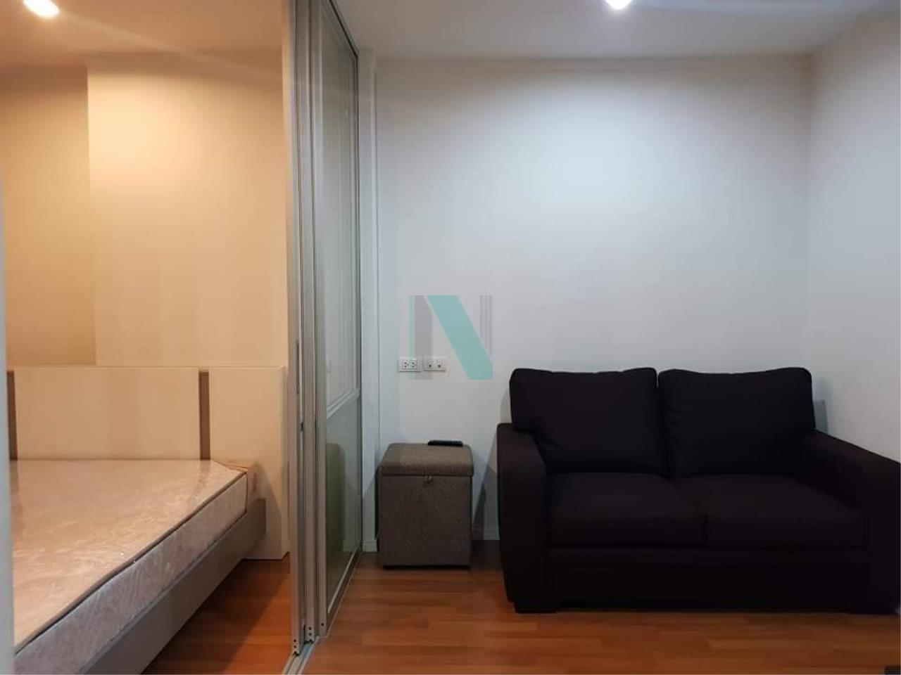 NOPPON REAL ESTATE CO.,LTD.  Agency's For rent, Lumpini Park Rama 9-Ratchada. 1 bedroom, 6th floor, Building A. 1