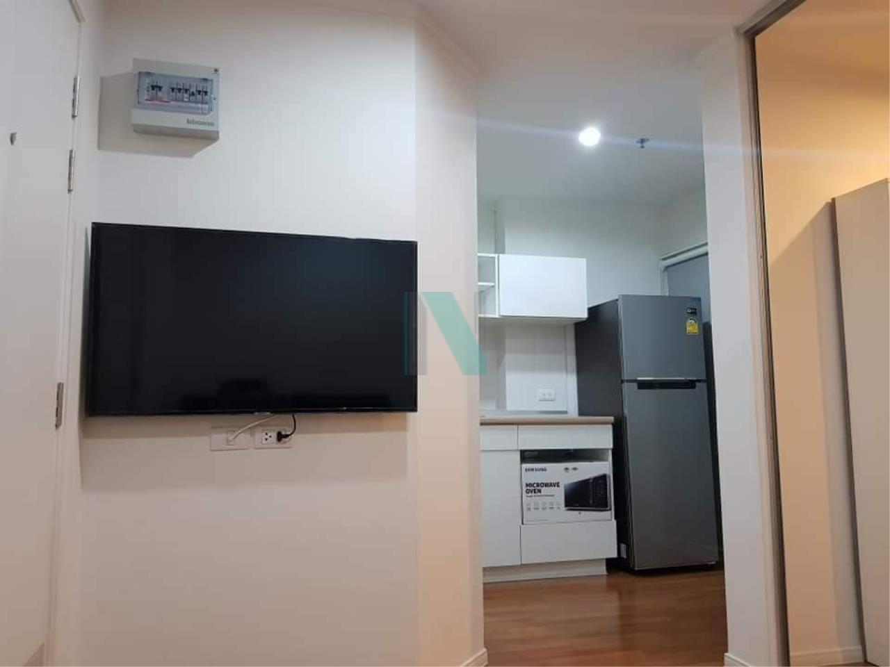 NOPPON REAL ESTATE CO.,LTD.  Agency's For rent, Lumpini Park Rama 9-Ratchada. 1 bedroom, 6th floor, Building A. 6