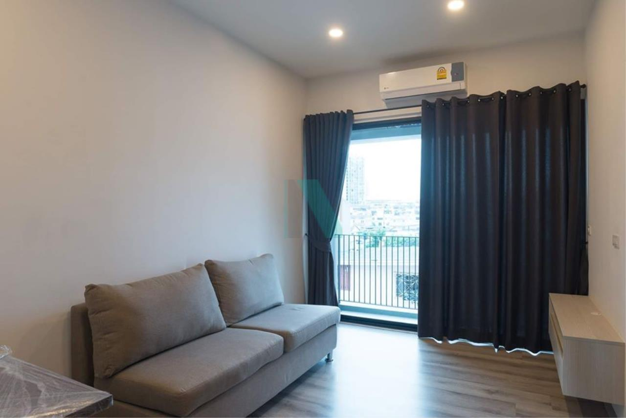 NOPPON REAL ESTATE CO.,LTD.  Agency's For Rent DOLCE UDOMSUK 1 Bedroom 5th Floor near BTS Udom Suk. 5