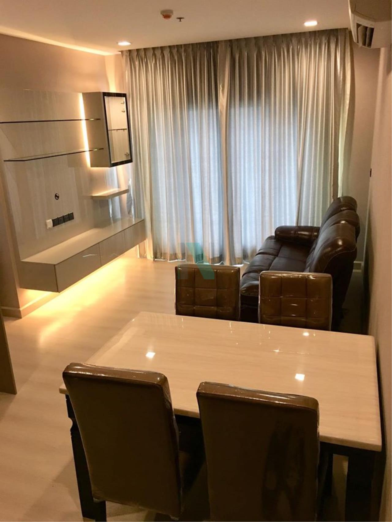 NOPPON REAL ESTATE CO.,LTD.  Agency's For rent THE SIGNATURE BY URBANO  2 bedrooms, 21st floor, near BTS Saphan Khwai. 1