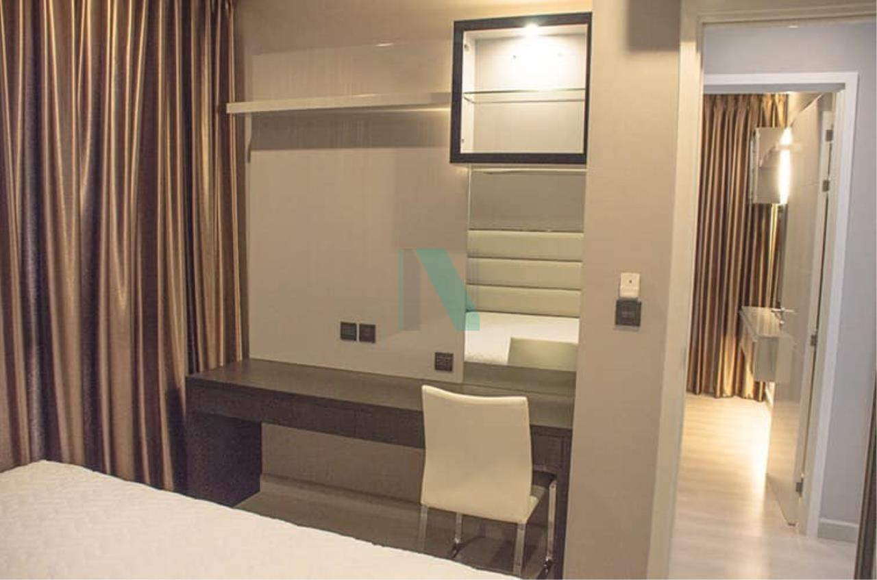 NOPPON REAL ESTATE CO.,LTD.  Agency's For rent THE SIGNATURE BY URBANO  2 bedrooms, 21st floor, near BTS Saphan Khwai. 3