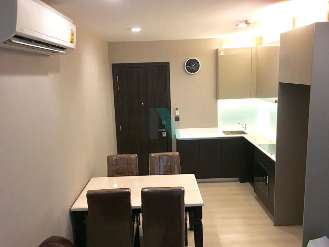 NOPPON REAL ESTATE CO.,LTD.  Agency's For rent THE SIGNATURE BY URBANO  2 bedrooms, 21st floor, near BTS Saphan Khwai. 4