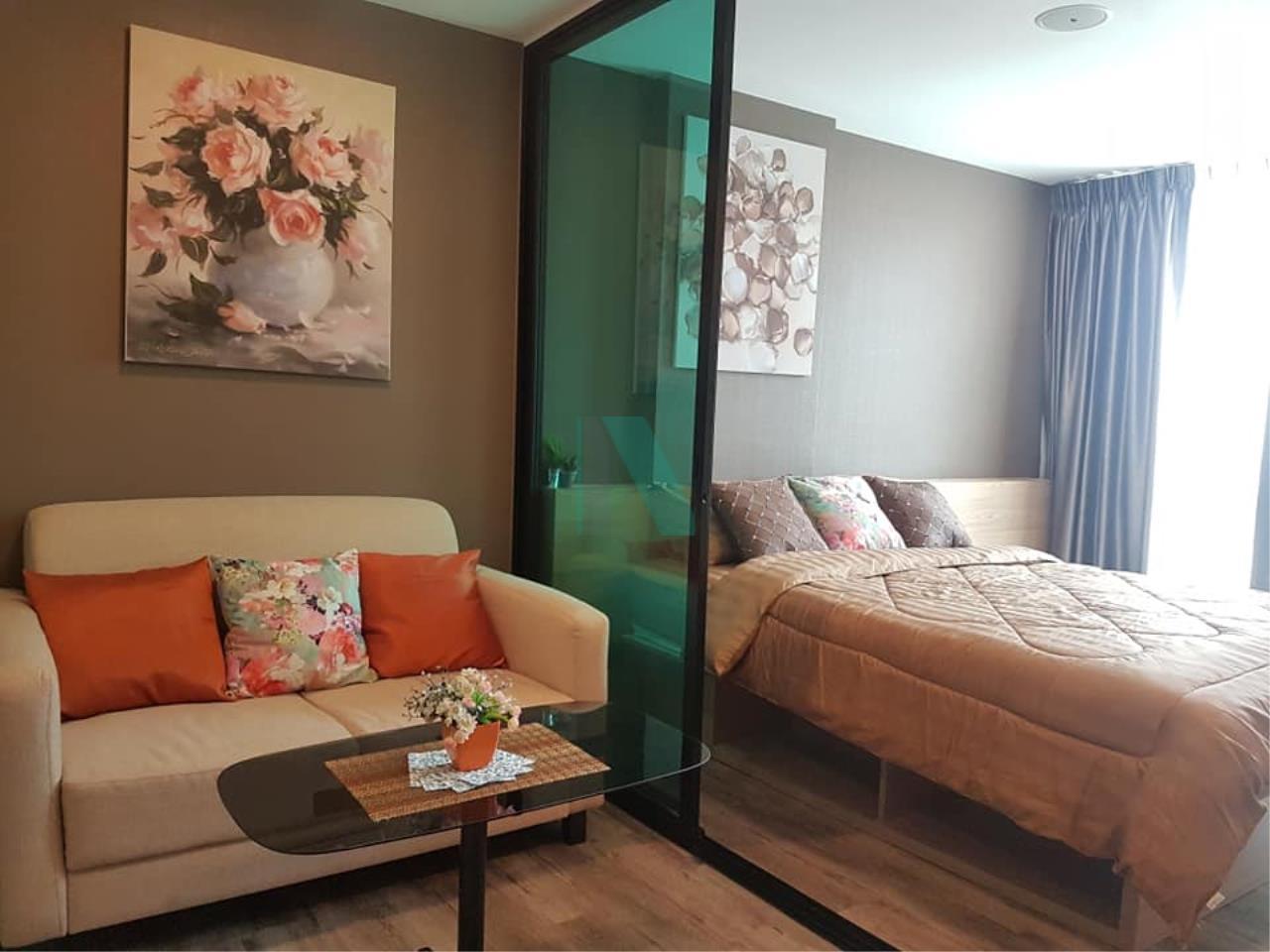 NOPPON REAL ESTATE CO.,LTD.  Agency's For rent, Brown Condo, Phahonyothin 67, 1 bedroom, 4th floor BTS Saiyut. 1
