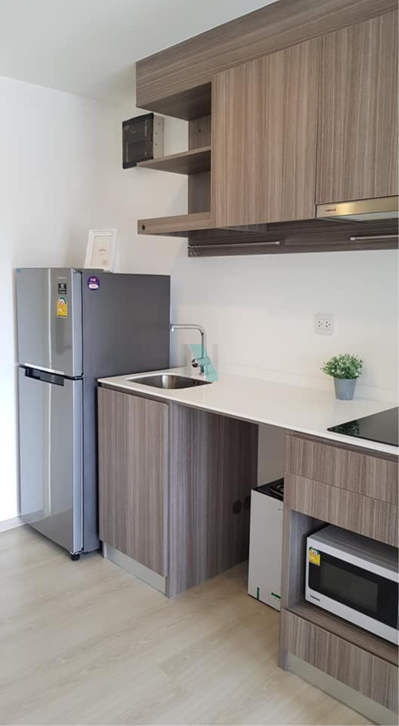NOPPON REAL ESTATE CO.,LTD.  Agency's For rent Kensington Phahonyothin 63 STUDIO 5th floor BTS Lak Si Monument. 6