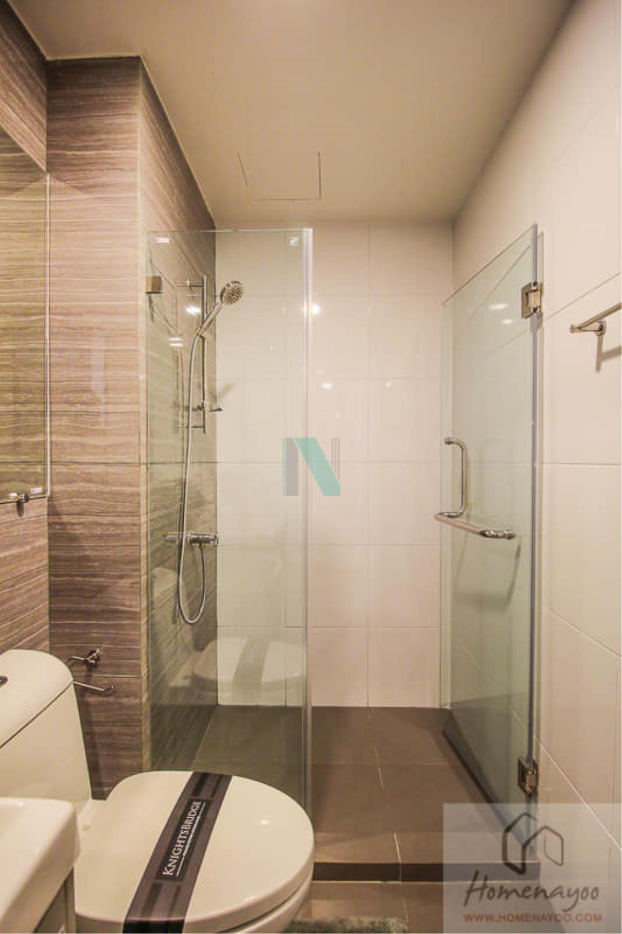 NOPPON REAL ESTATE CO.,LTD.  Agency's For rent Kensington Phahonyothin 63 STUDIO 5th floor BTS Lak Si Monument. 7