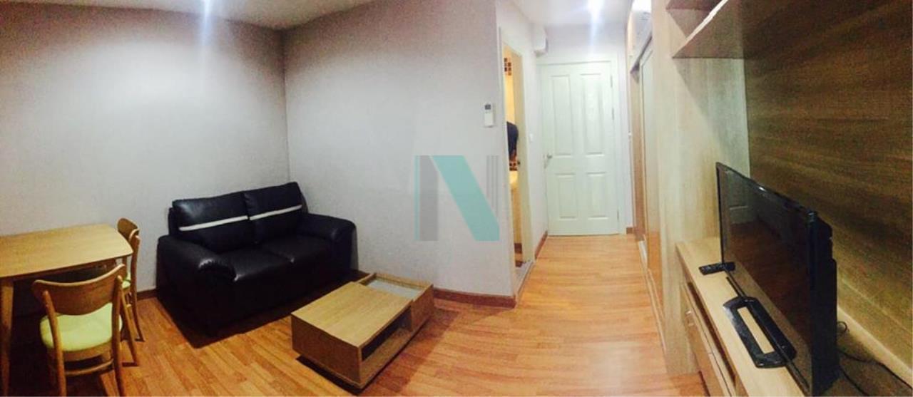 NOPPON REAL ESTATE CO.,LTD. Agency's For rent, Regent Home 25, Tiwanon, 1 bedroom, 4th floor, Building E. 6
