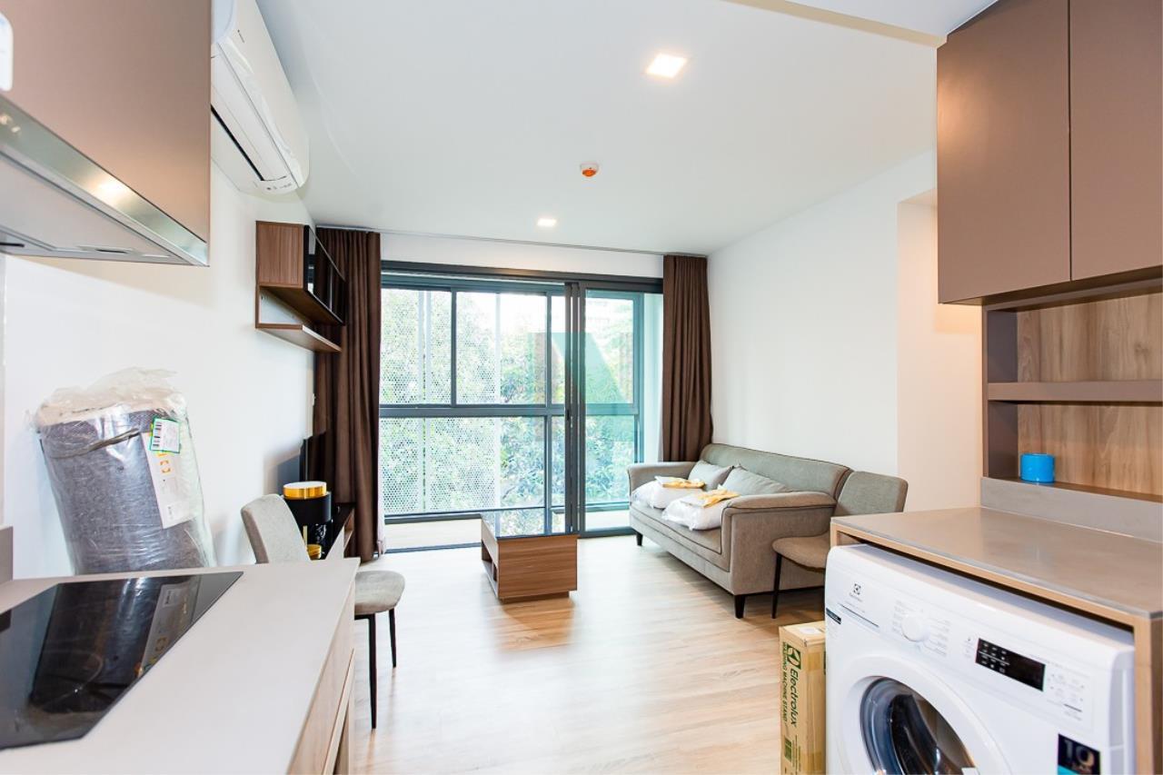 NOPPON REAL ESTATE CO.,LTD. Agency's For rent TAKA HAUS EKKAMAI 1 bedroom, 4th floor, Building B. 7