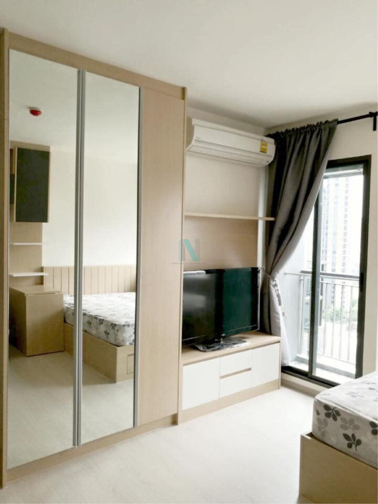 NOPPON REAL ESTATE CO.,LTD. Agency's For rent Rhythm Asoke STUDIO 14th floor near MRT Rama 9. 5