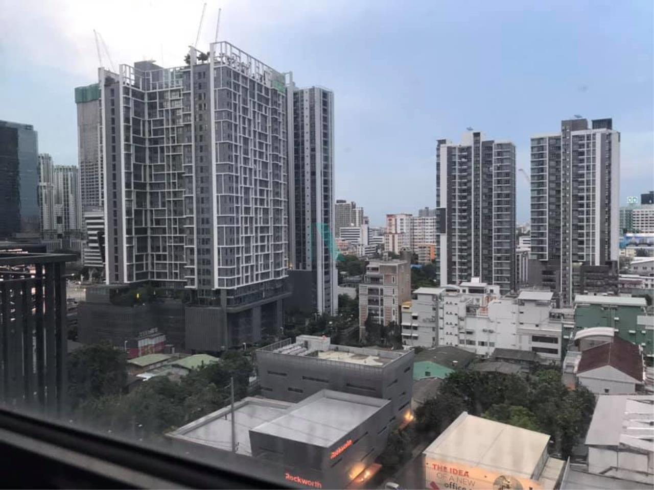 NOPPON REAL ESTATE CO.,LTD. Agency's For rent Rhythm Asoke STUDIO 14th floor near MRT Rama 9. 8