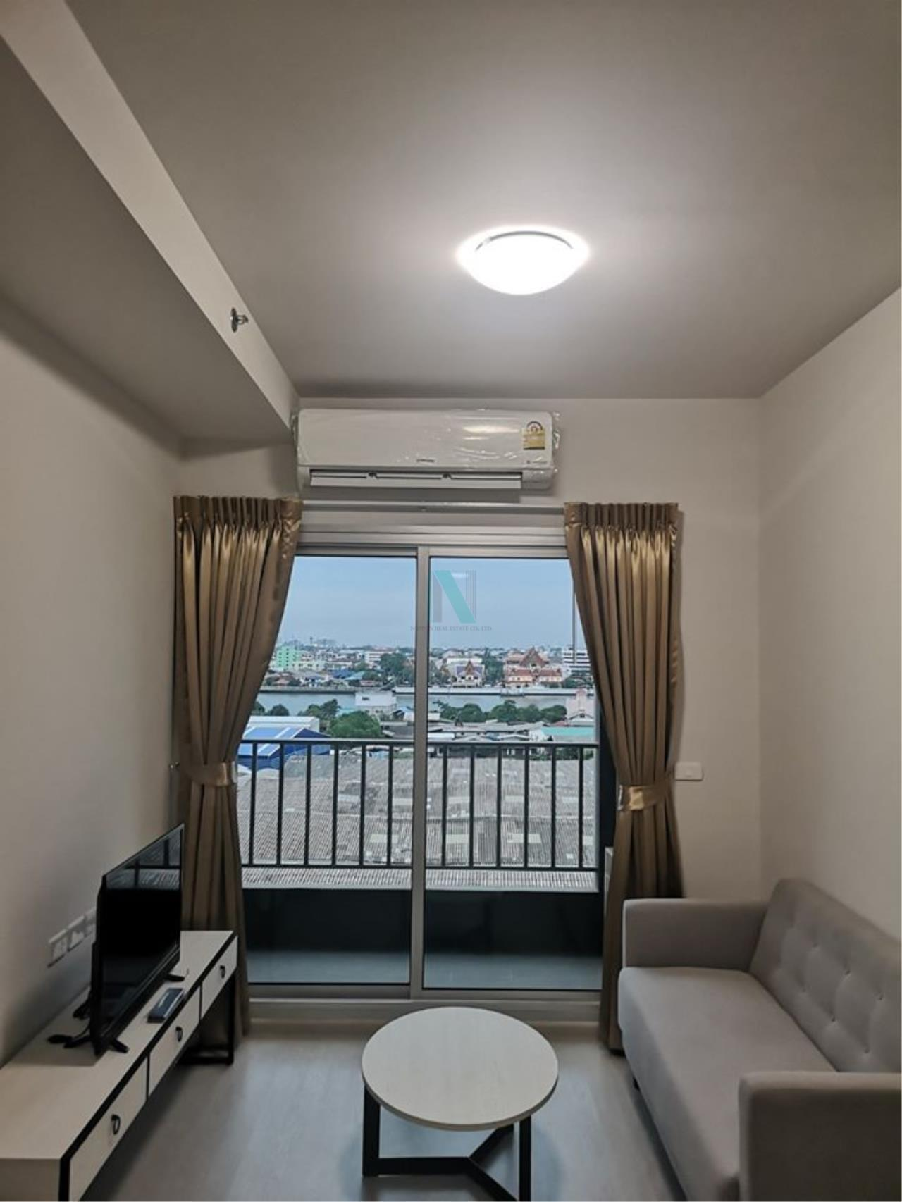 NOPPON REAL ESTATE CO.,LTD. Agency's For rent Chapter One Shine, Bangpho, 2 bedrooms, 9th floor. 1