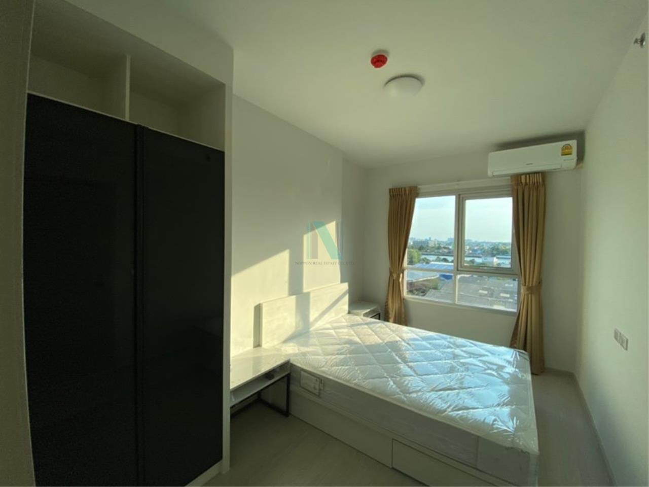 NOPPON REAL ESTATE CO.,LTD. Agency's For rent Chapter One Shine, Bangpho, 2 bedrooms, 9th floor. 6