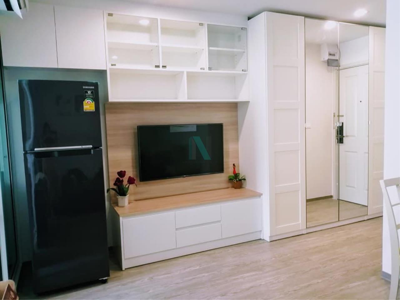 NOPPON REAL ESTATE CO.,LTD. Agency's For rent Regent Home Sukhumvit 97/1 1 bedroom, 8th floor, Building A, BTS Bang Chak. 5