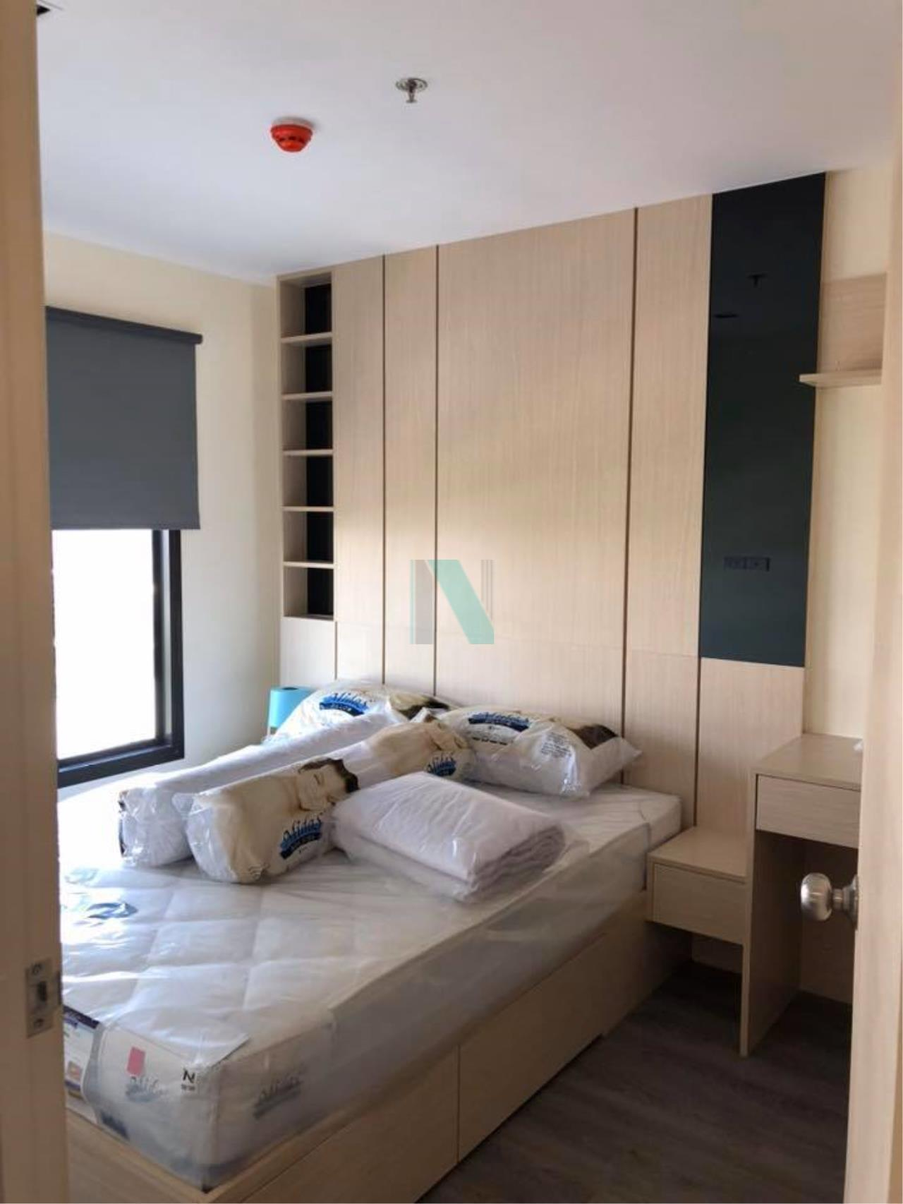 NOPPON REAL ESTATE CO.,LTD. Agency's For rent RICH PARK AT TRIPLE STATION  1 bedroom, 18th floor, near Airport Link Hua Mak. 4