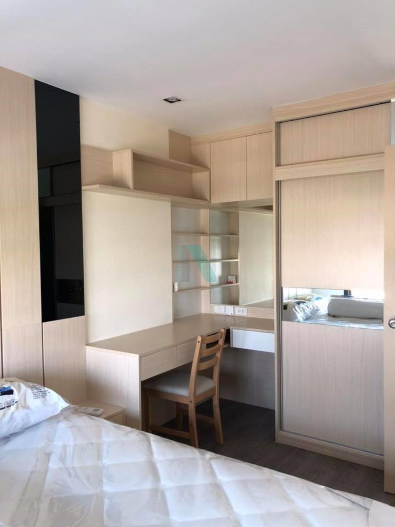 NOPPON REAL ESTATE CO.,LTD. Agency's For rent RICH PARK AT TRIPLE STATION  1 bedroom, 18th floor, near Airport Link Hua Mak. 5