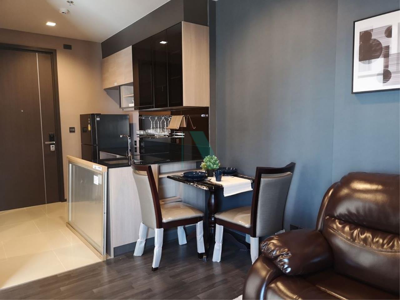 NOPPON REAL ESTATE CO.,LTD. Agency's For rent The LINE Asoke-Ratchada 1 bedroom 30th floor near MRT Phra Ram 9. 3