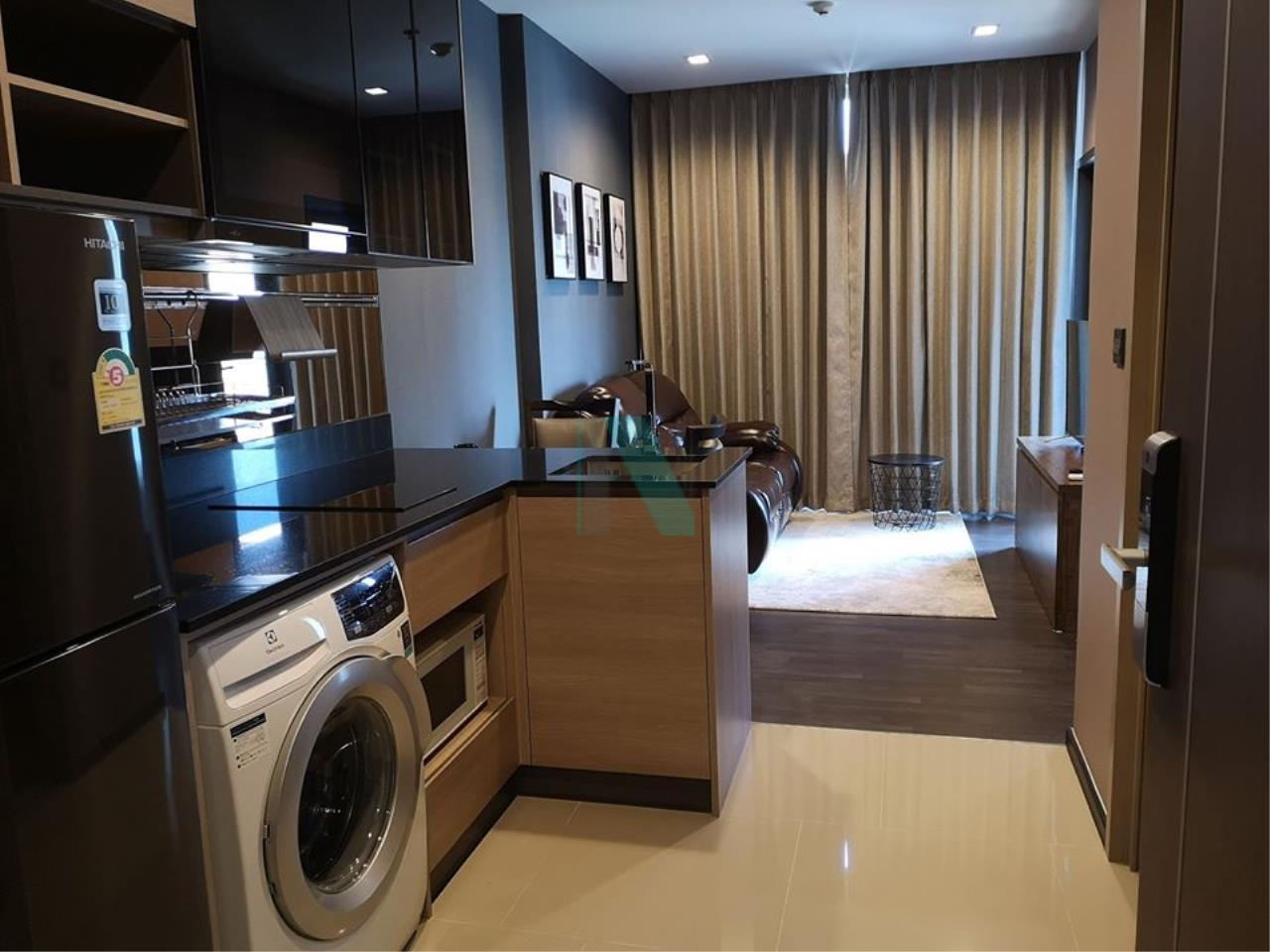 NOPPON REAL ESTATE CO.,LTD. Agency's For rent The LINE Asoke-Ratchada 1 bedroom 30th floor near MRT Phra Ram 9. 4
