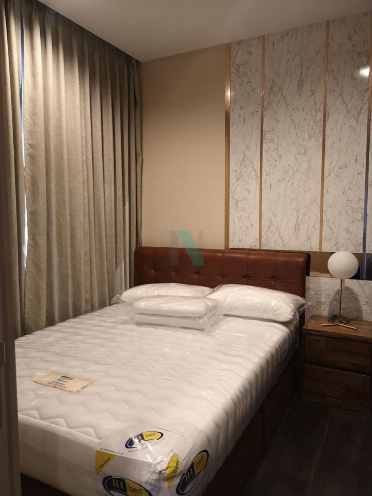 NOPPON REAL ESTATE CO.,LTD. Agency's For rent The LINE Asoke-Ratchada 1 bedroom 30th floor near MRT Phra Ram 9. 5