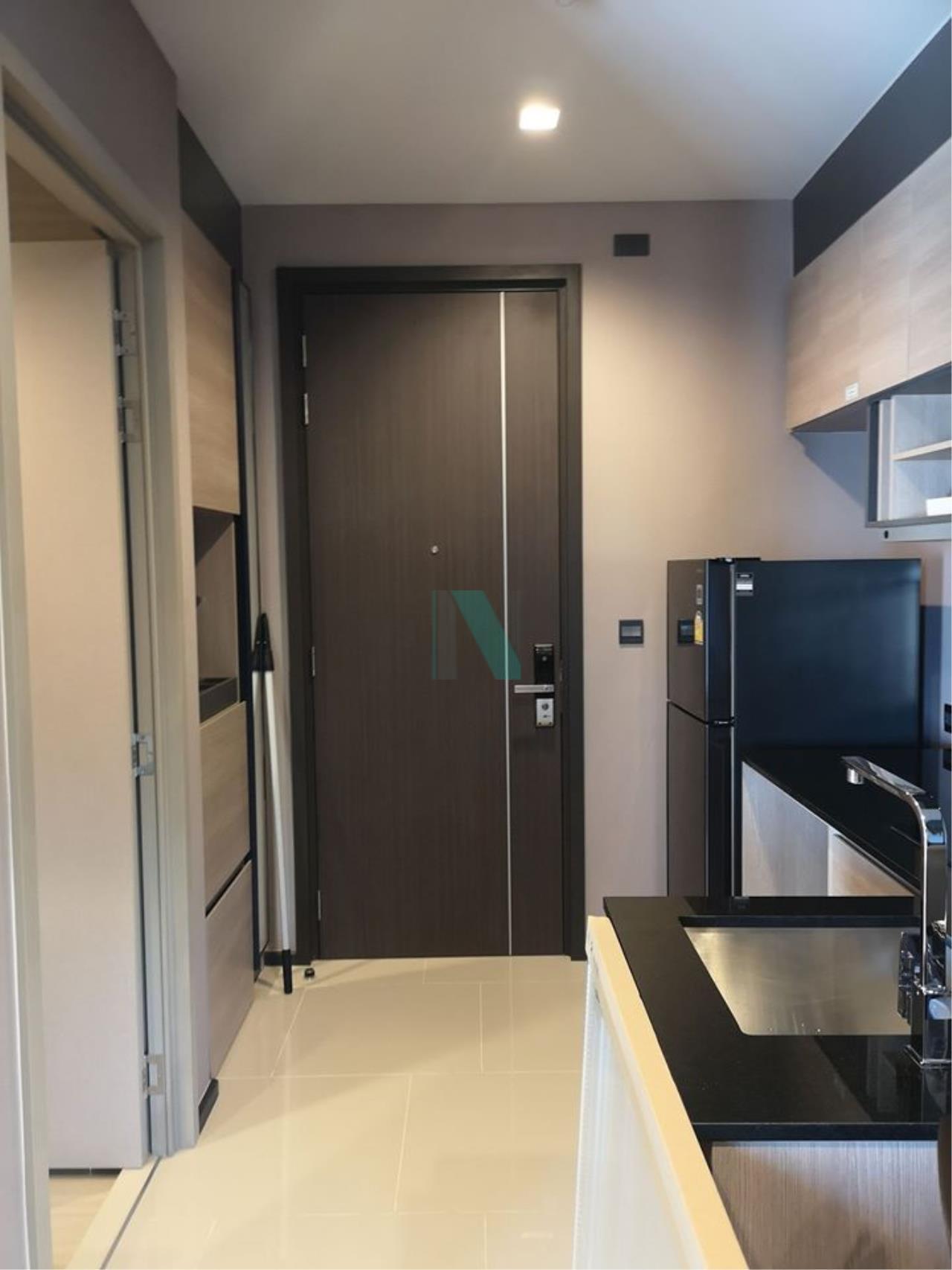 NOPPON REAL ESTATE CO.,LTD. Agency's For rent The LINE Asoke-Ratchada 1 bedroom 30th floor near MRT Phra Ram 9. 7