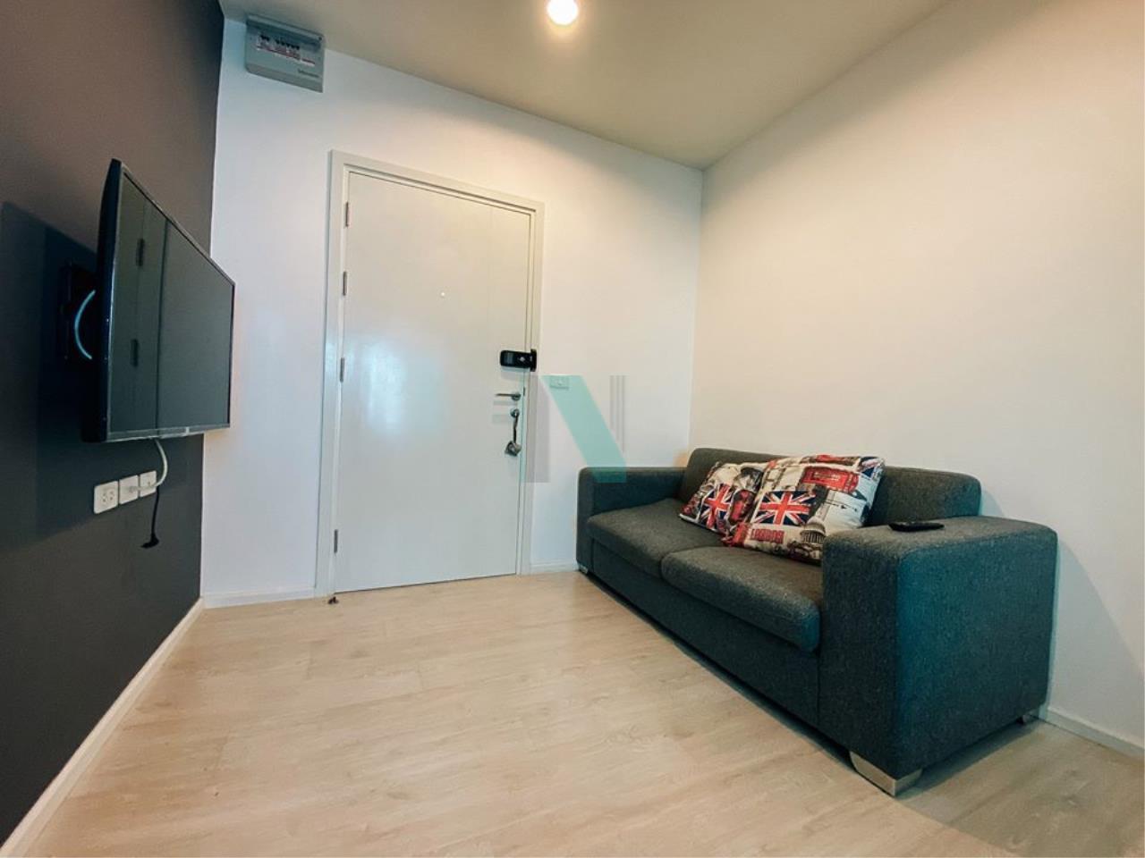 NOPPON REAL ESTATE CO.,LTD. Agency's For rent, Aspire Sathorn-Thapra, 1 bedroom, 10th floor, near BTS Talat Phlu. 1