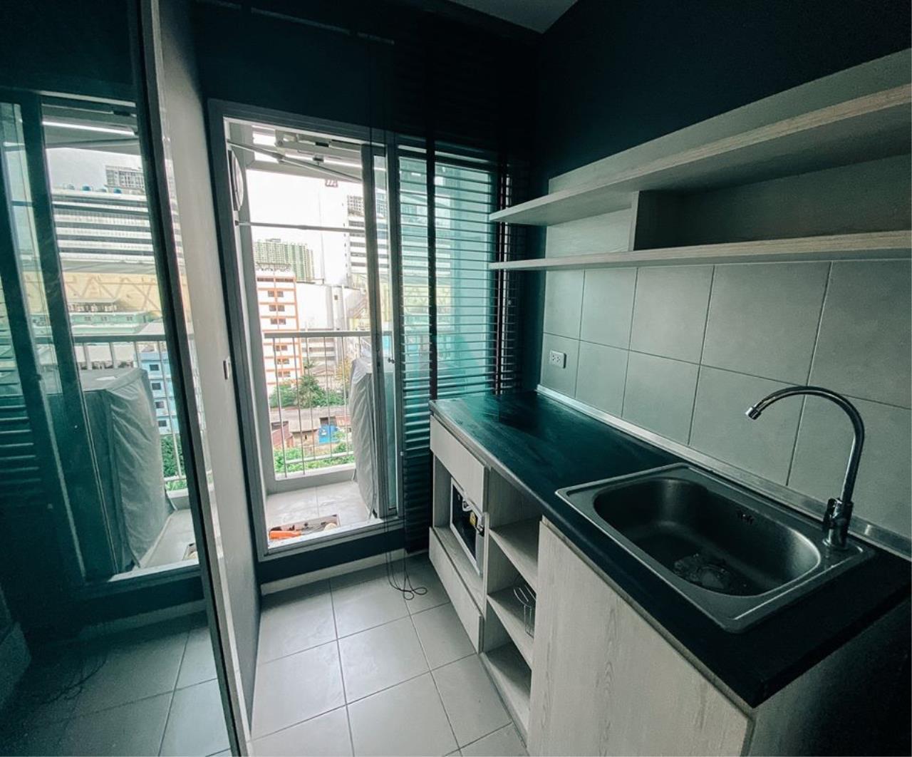 NOPPON REAL ESTATE CO.,LTD. Agency's For rent, Aspire Sathorn-Thapra, 1 bedroom, 10th floor, near BTS Talat Phlu. 6