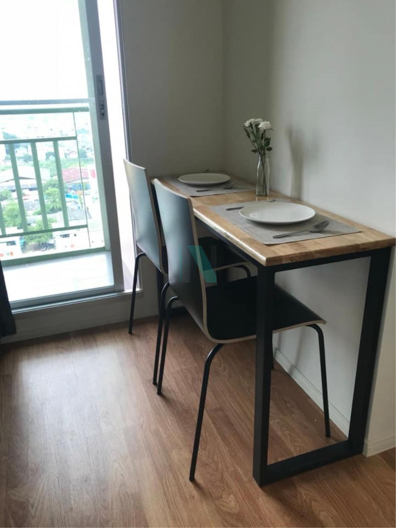 NOPPON REAL ESTATE CO.,LTD. Agency's For rent, Lumpini Park Petchkasem 98, 1 bedroom, 18th floor, Building B. 4