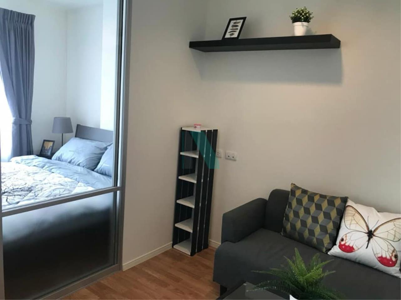NOPPON REAL ESTATE CO.,LTD. Agency's For rent, Lumpini Park Petchkasem 98, 1 bedroom, 18th floor, Building B. 6