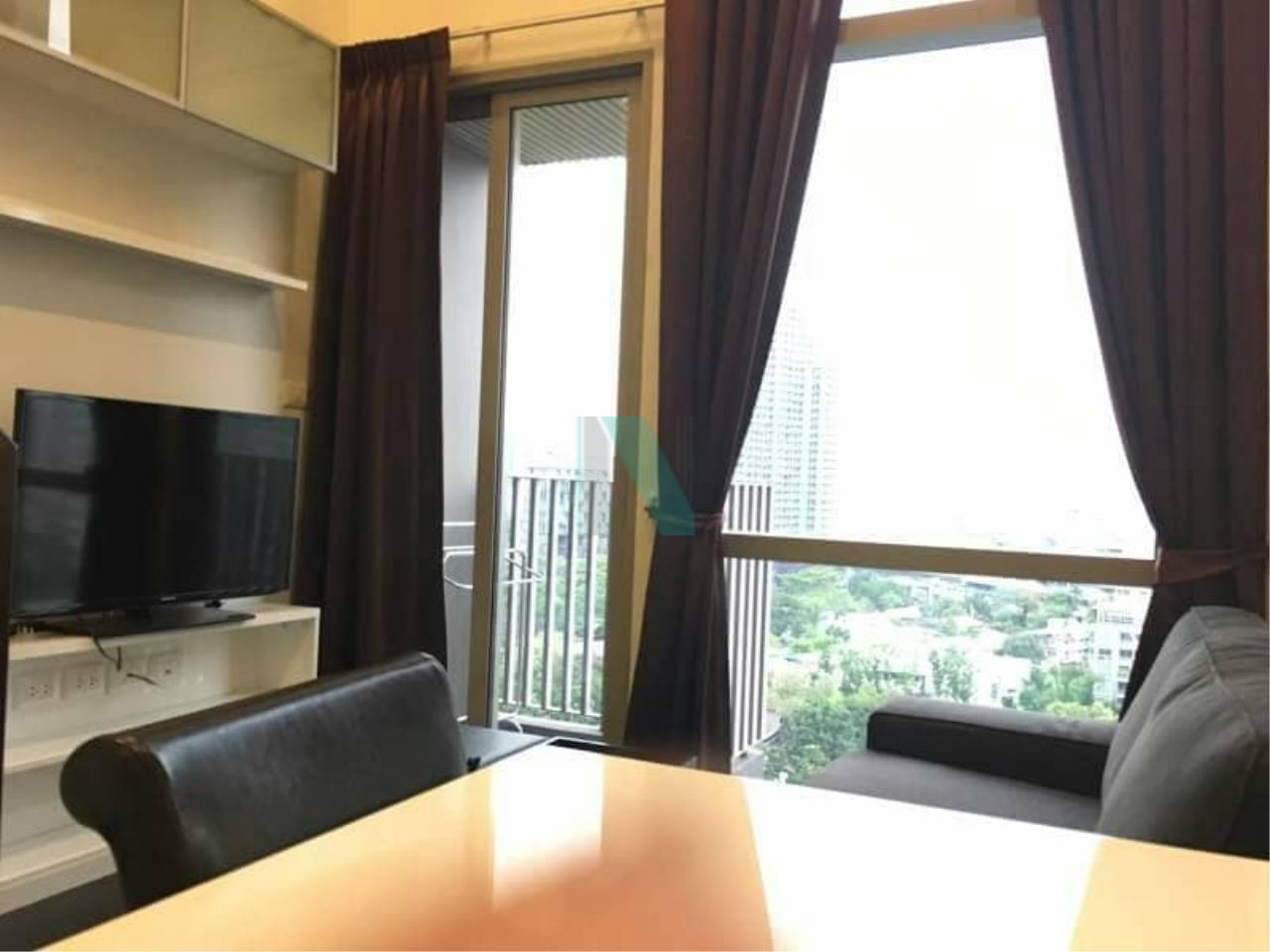 NOPPON REAL ESTATE CO.,LTD. Agency's For rent Ideo Morph 38 Duplex, 1 bedroom, 9th floor, near BTS Thong Lo. 3