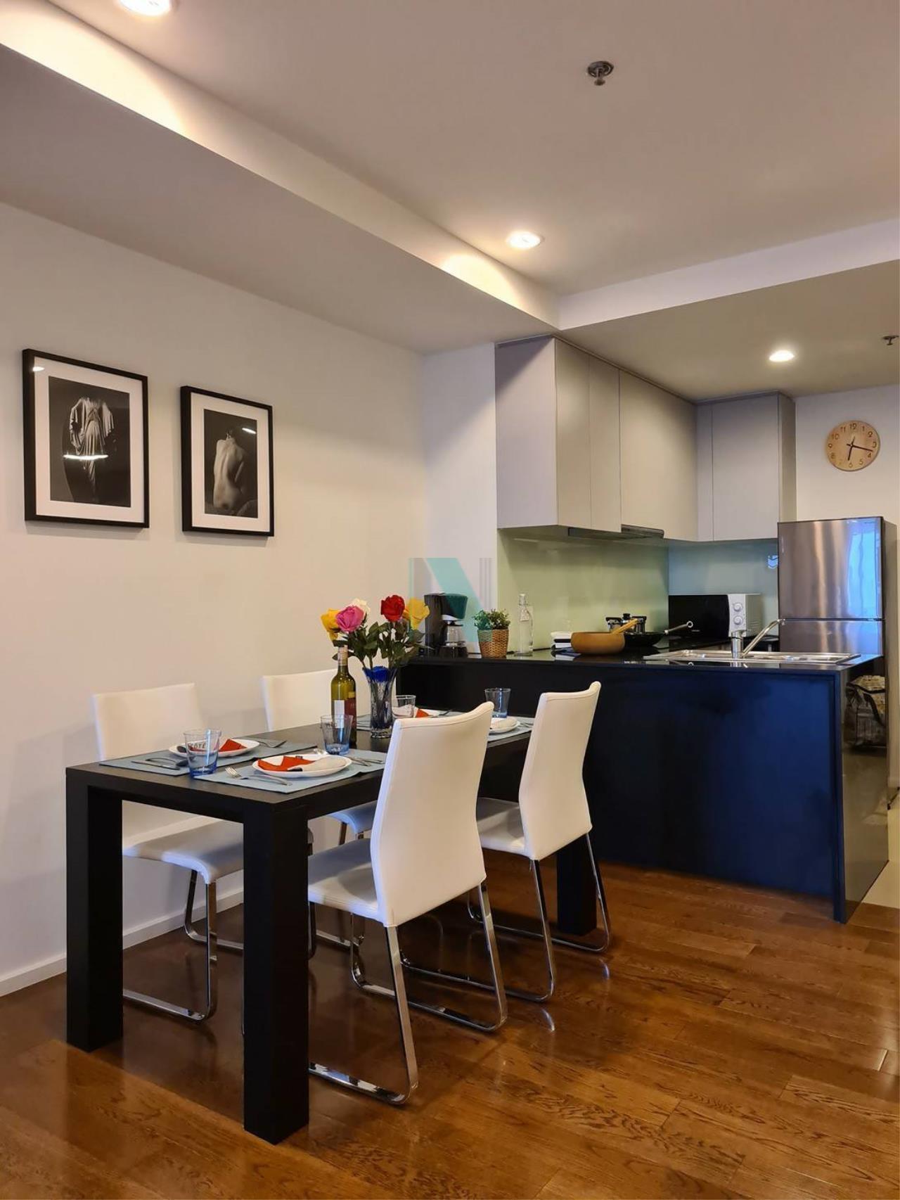 NOPPON REAL ESTATE CO.,LTD. Agency's For rent 15 Sukhumvit Residences 2 bedrooms, 20 floor, near BTS Nana. 2