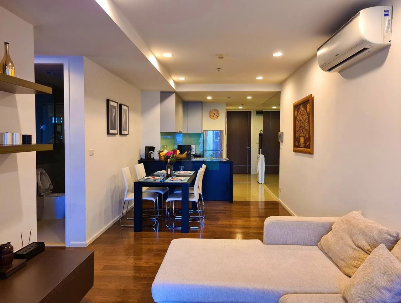 NOPPON REAL ESTATE CO.,LTD. Agency's For rent 15 Sukhumvit Residences 2 bedrooms, 20 floor, near BTS Nana. 4