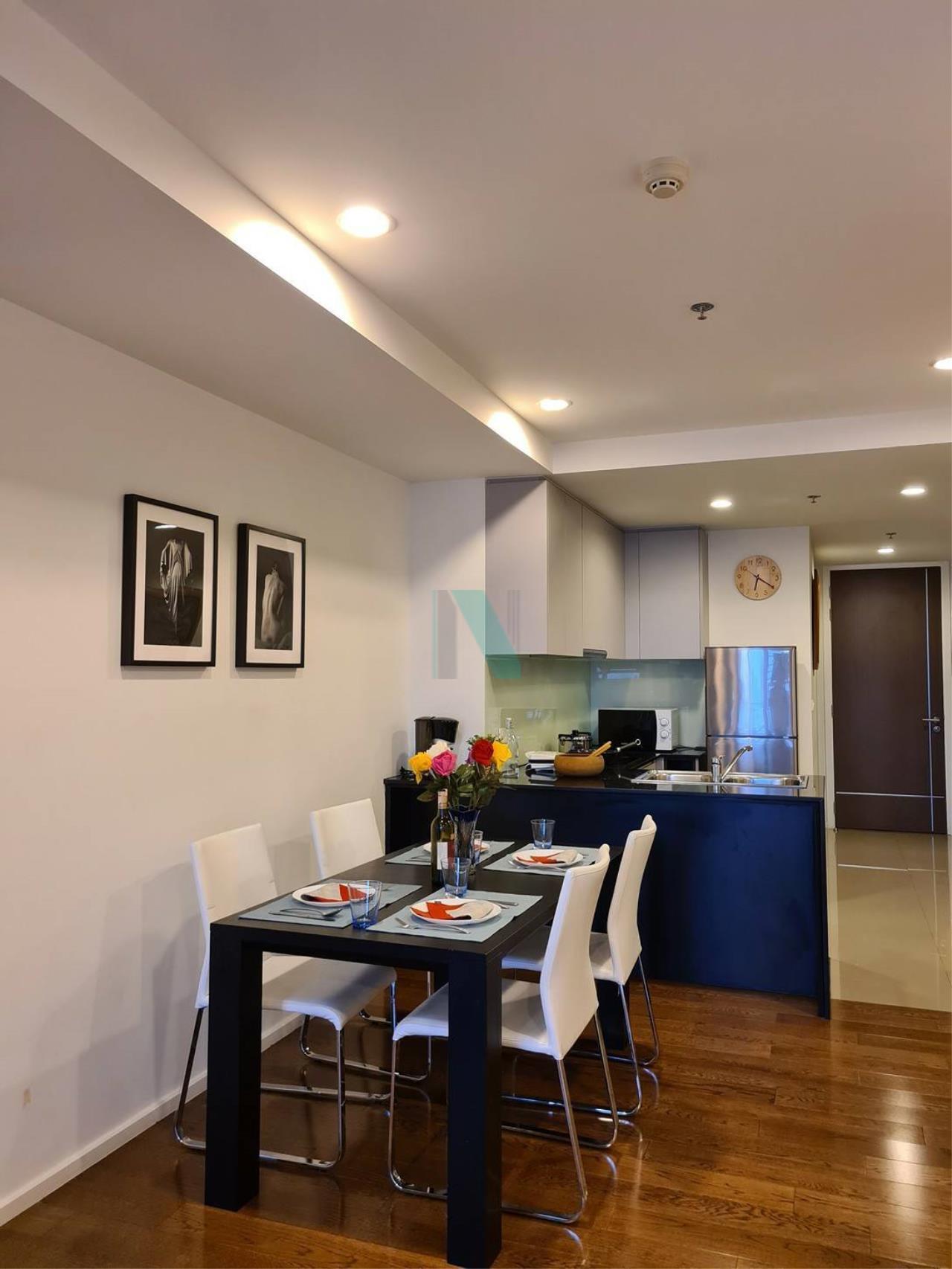 NOPPON REAL ESTATE CO.,LTD. Agency's For rent 15 Sukhumvit Residences 2 bedrooms, 20 floor, near BTS Nana. 5