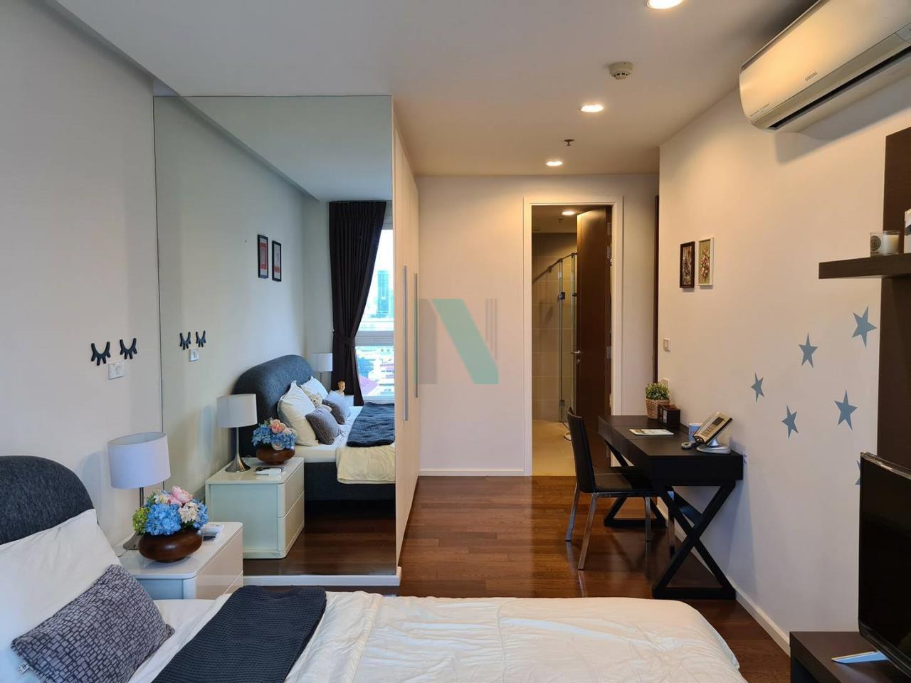 NOPPON REAL ESTATE CO.,LTD. Agency's For rent 15 Sukhumvit Residences 2 bedrooms, 20 floor, near BTS Nana. 7