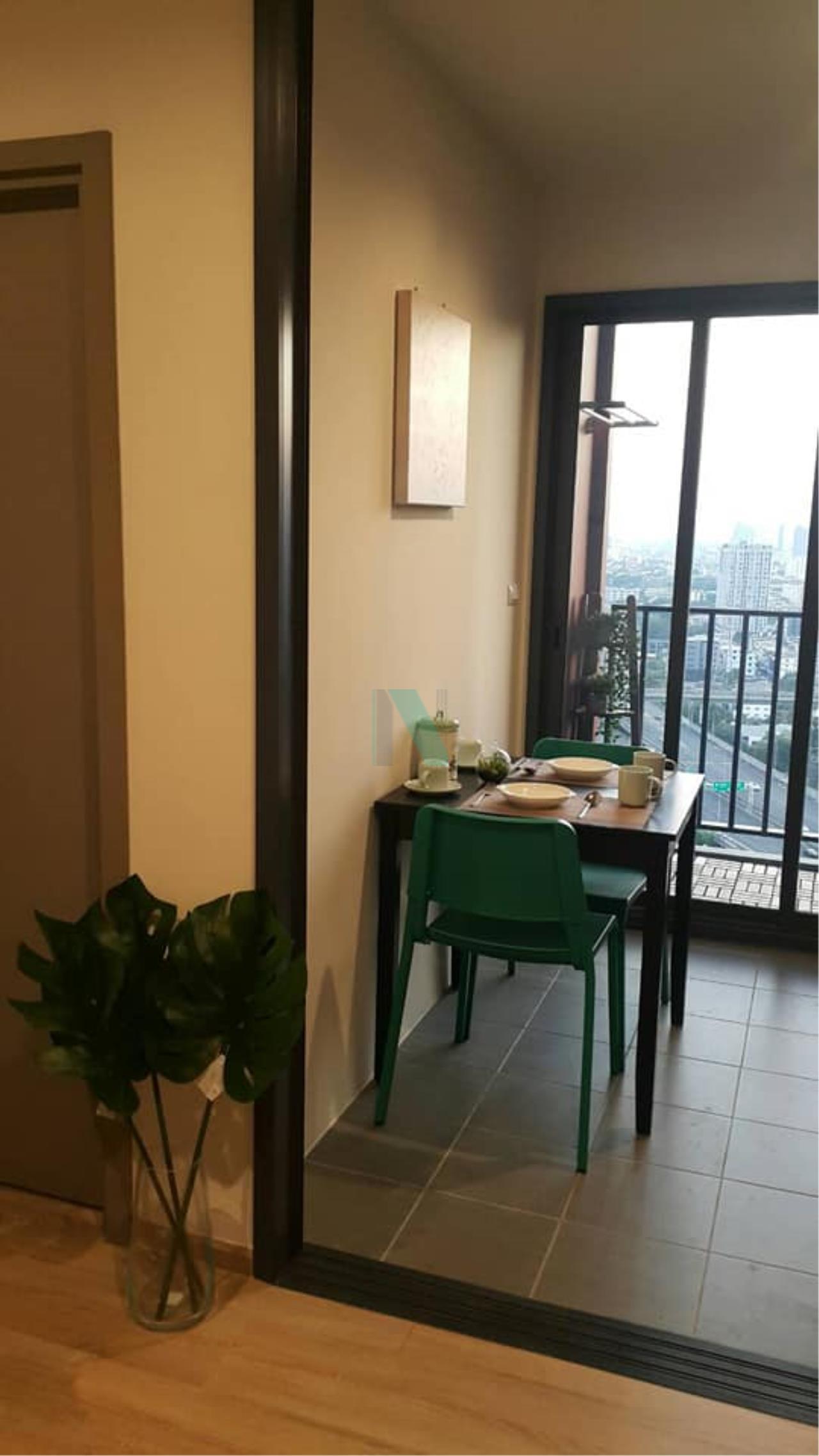 NOPPON REAL ESTATE CO.,LTD. Agency's For rent The Base Garden - Rama 9 1 bedroom 24th floor Airport Link Ramkhamhaeng. 3
