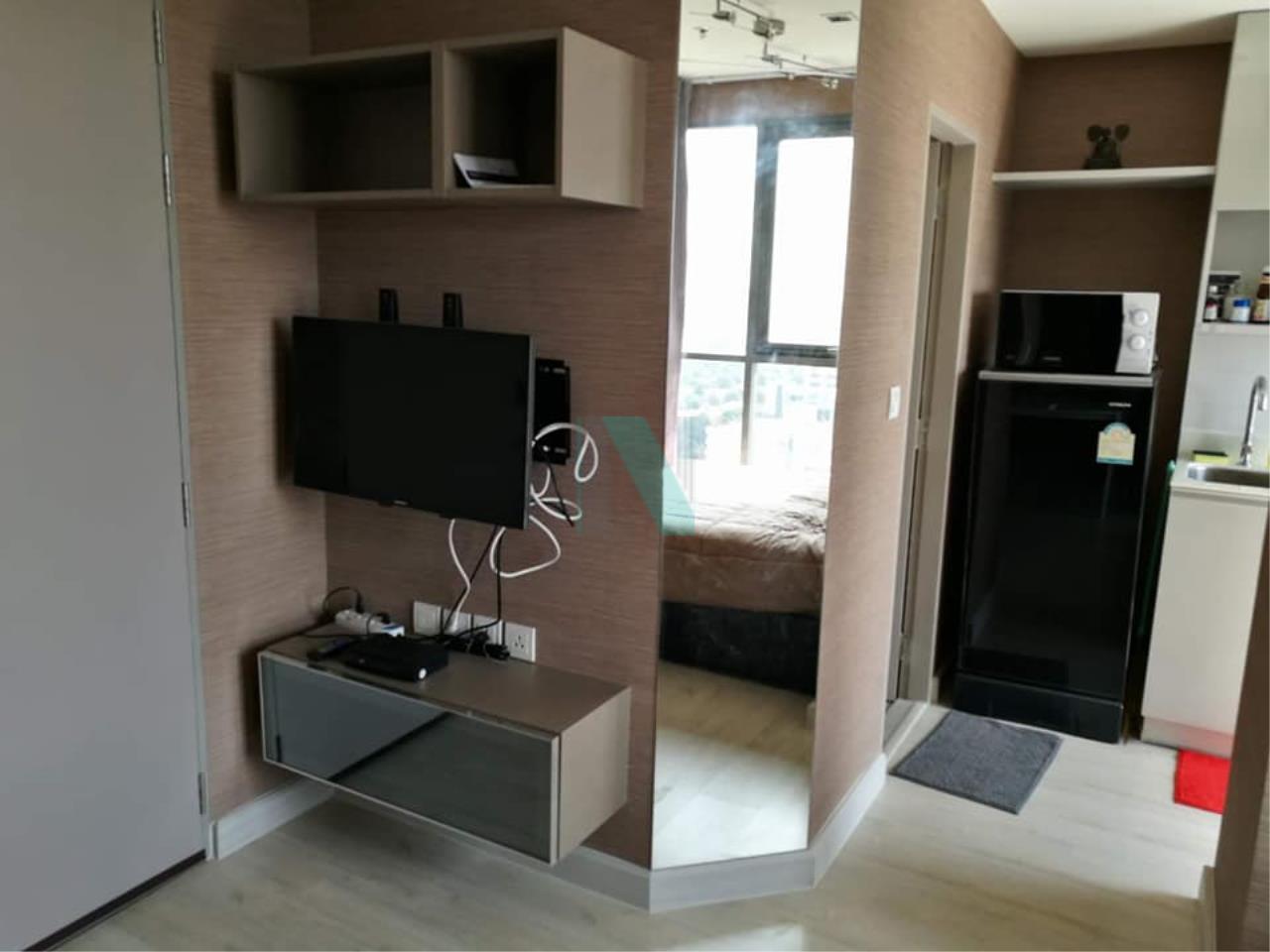 NOPPON REAL ESTATE CO.,LTD. Agency's For rent Ideo Mobi Sukhumvit STUDIO Floor 18 Building B near BTS On Nut. 2