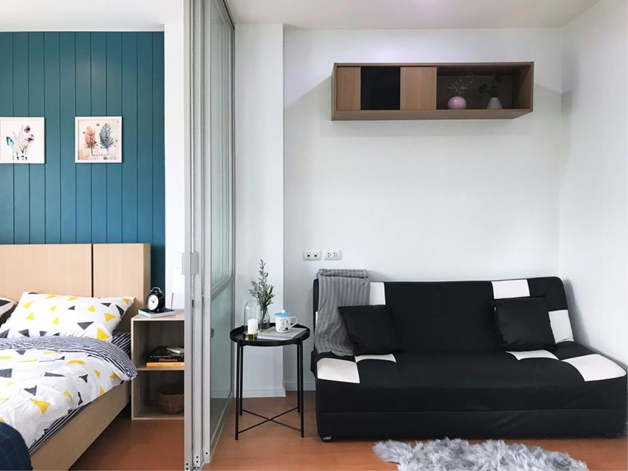 Agent Thawanrat Agency's Condo for rental LUMPINI CONDOTOWN NIDA – SEREETHAI 1 bedroom,1 bathroom. size 23 sqm.Floor 32 th. fully furnished Ready to move in 1
