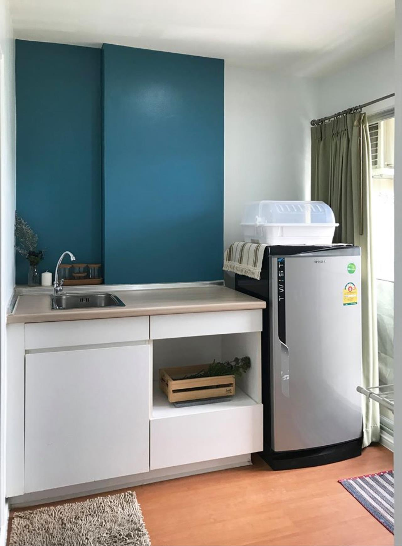 Agent Thawanrat Agency's Condo for rental LUMPINI CONDOTOWN NIDA – SEREETHAI 1 bedroom,1 bathroom. size 23 sqm.Floor 32 th. fully furnished Ready to move in 6