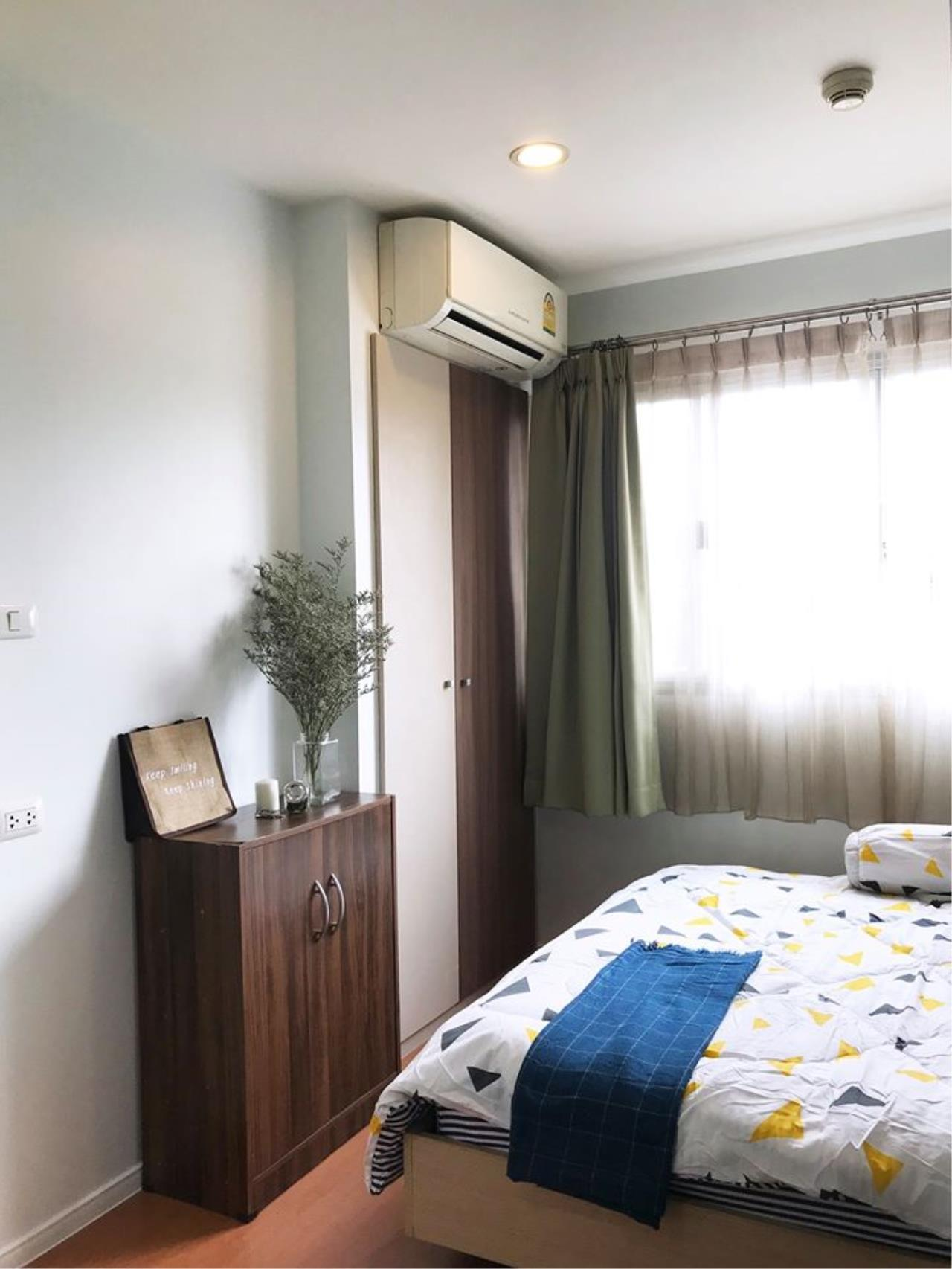 Agent Thawanrat Agency's Condo for rental LUMPINI CONDOTOWN NIDA – SEREETHAI 1 bedroom,1 bathroom. size 23 sqm.Floor 32 th. fully furnished Ready to move in 5