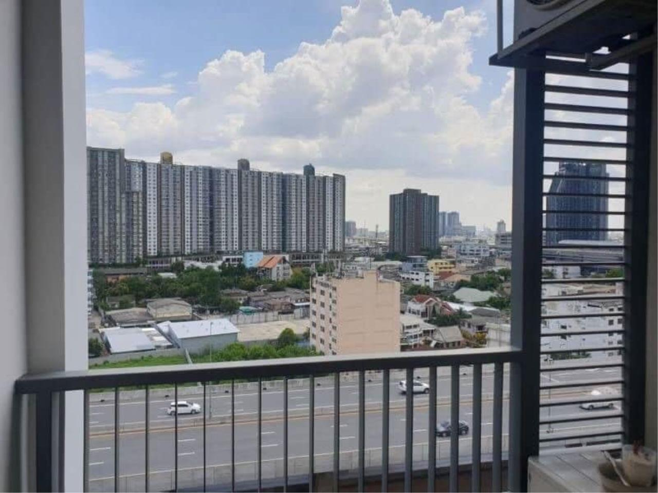 Agent Thawanrat Agency's Condo for rental Metro Sky Bangsue-Prachachuen Near BTS.Bang Son 1 bedroom,1 bathroom. size 36 sqm.Floor 12 th. fully furnished Ready to move in 8