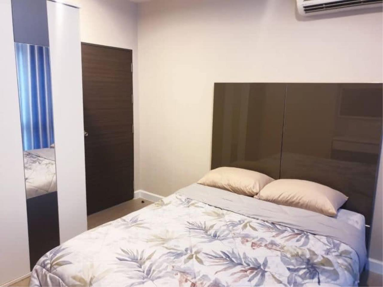 Agent Thawanrat Agency's Condo for rental Metro Sky Bangsue-Prachachuen Near BTS.Bang Son 1 bedroom,1 bathroom. size 36 sqm.Floor 12 th. fully furnished Ready to move in 5