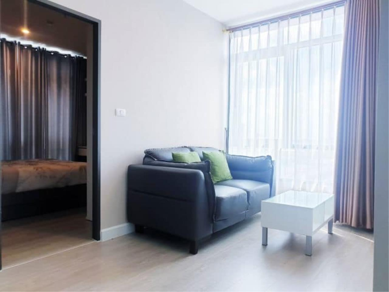 Agent Thawanrat Agency's Condo for rental Metro Sky Bangsue-Prachachuen Near BTS.Bang Son 1 bedroom,1 bathroom. size 36 sqm.Floor 12 th. fully furnished Ready to move in 3