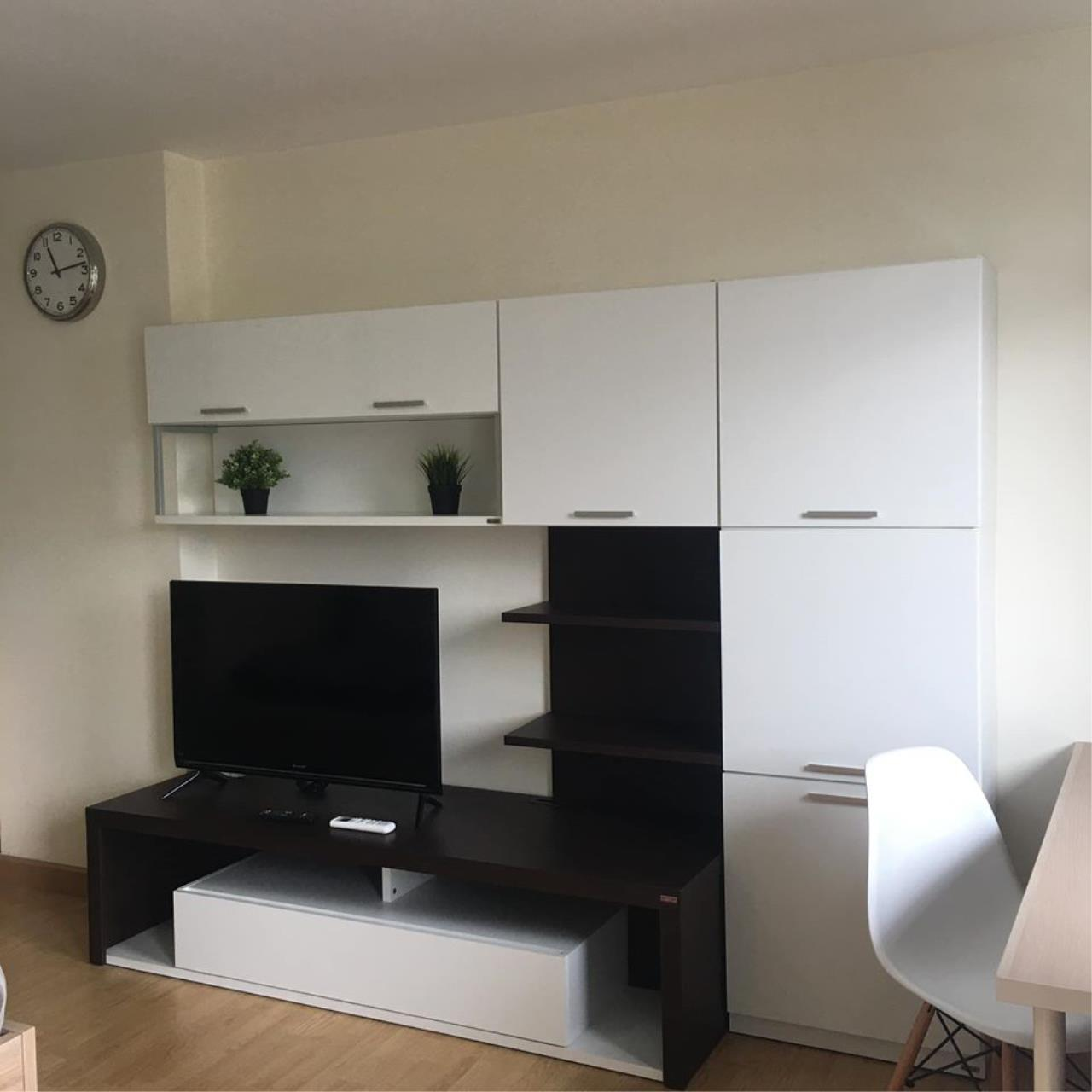 Agent Thawanrat Agency's Condo for rental THE LINK ADVANCE SUKHUMVIT 50 Near BTS. On Nut 1 bedroom,1 bathroom. size 31.5 sqm.Floor 2 nd. fully furnished Ready to move in 5